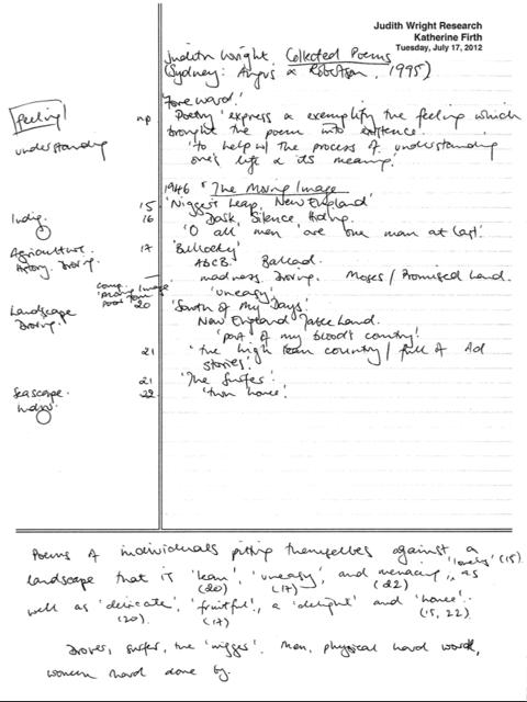 Cornell Method Notes – The Thesis Whisperer